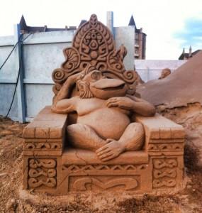 2014 Weston Sand Sculpture Festival